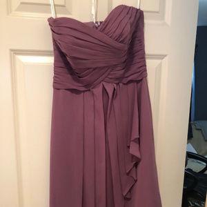 David Bridal Bridesmaid Dress